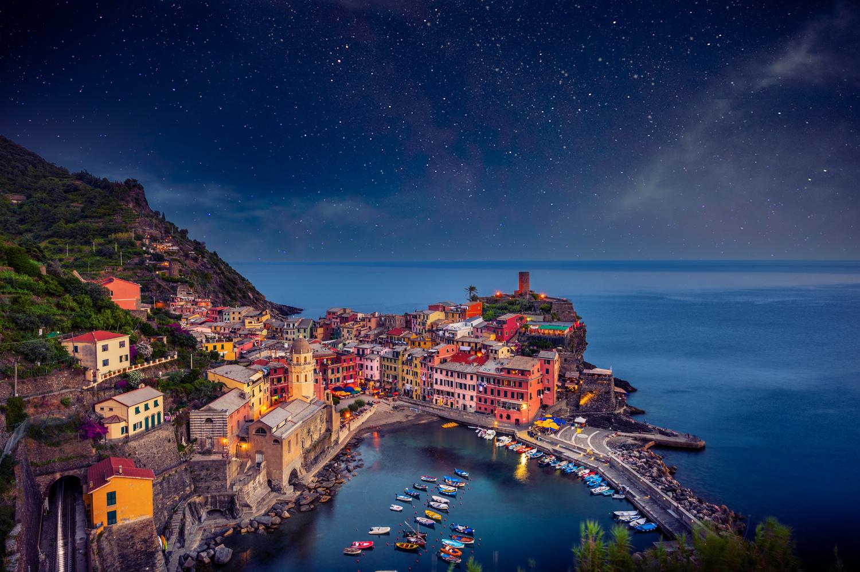 Vernazza Night by Alex Hill