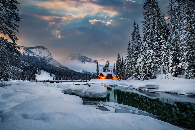 Emerald Lake Lodge by Alex Hill