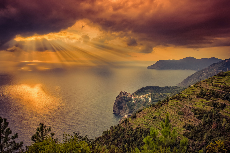 Cinque Terre by Alex Hill