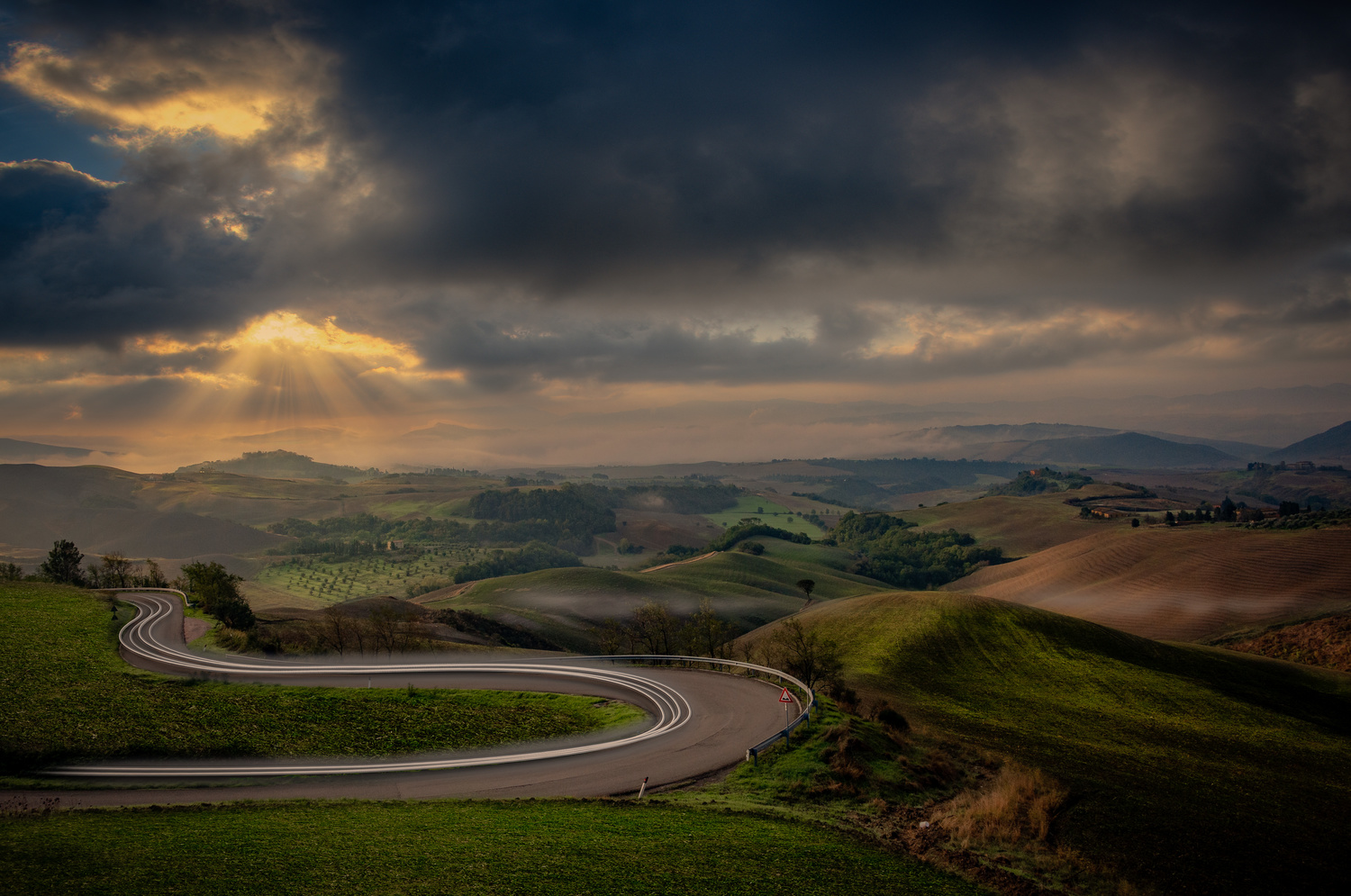 Curve in the Road by Alex Hill