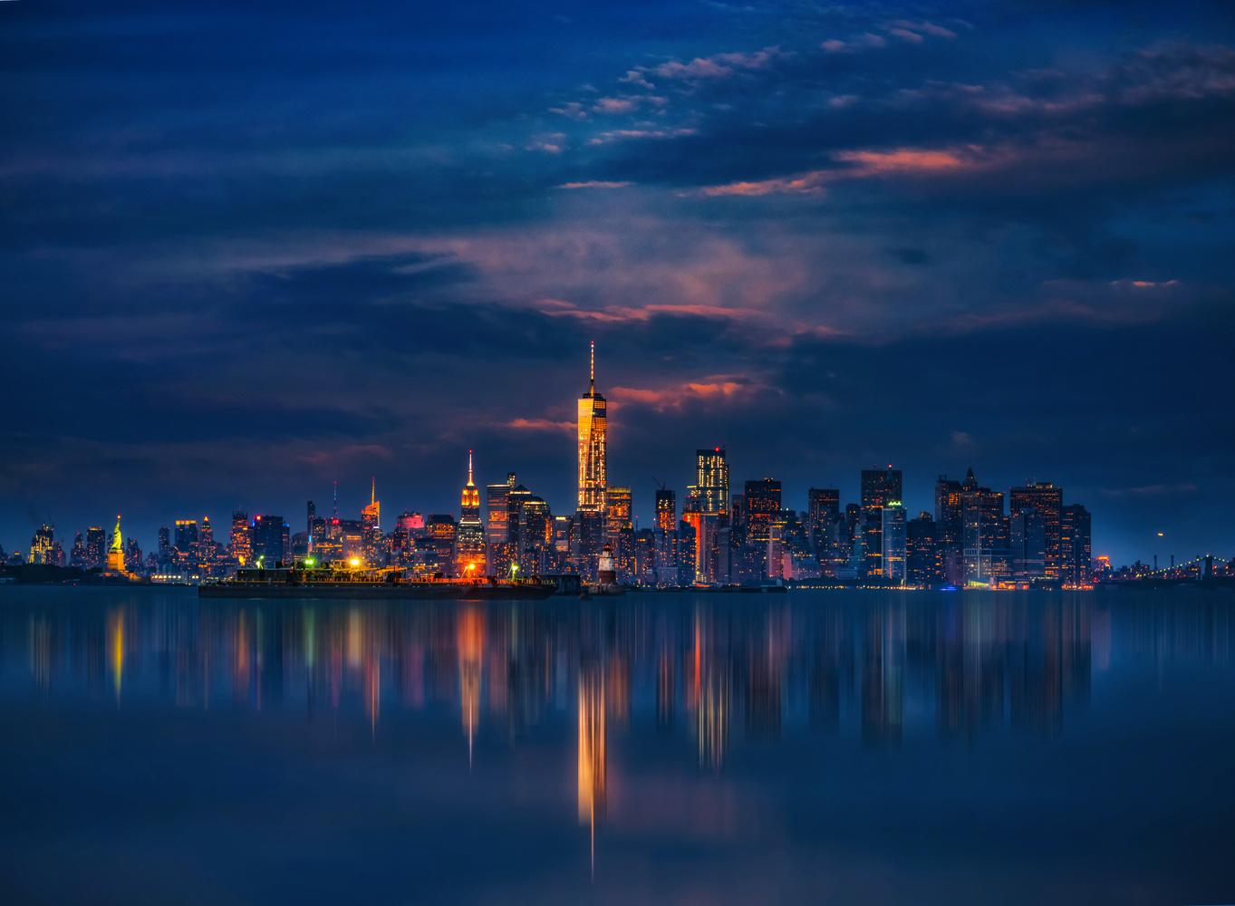 NYC Night by Alex Hill