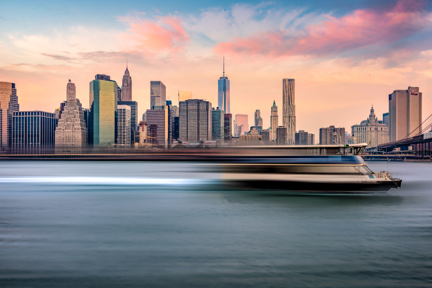 Speed Boat NYC by Alex Hill