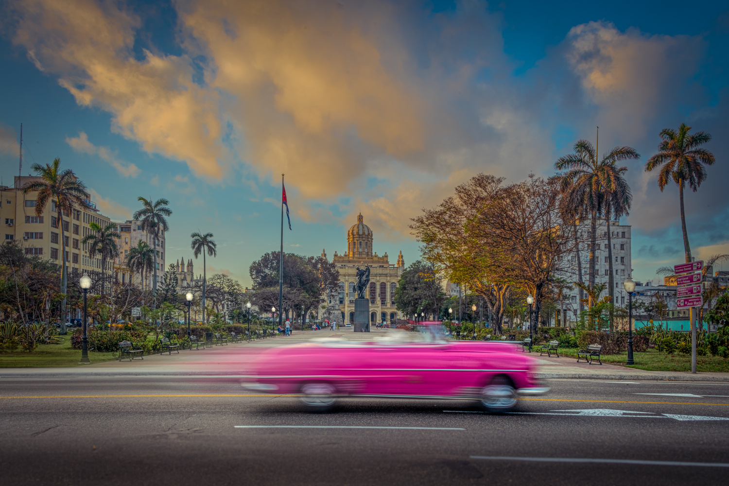 Havana Fast Lane by Alex Hill