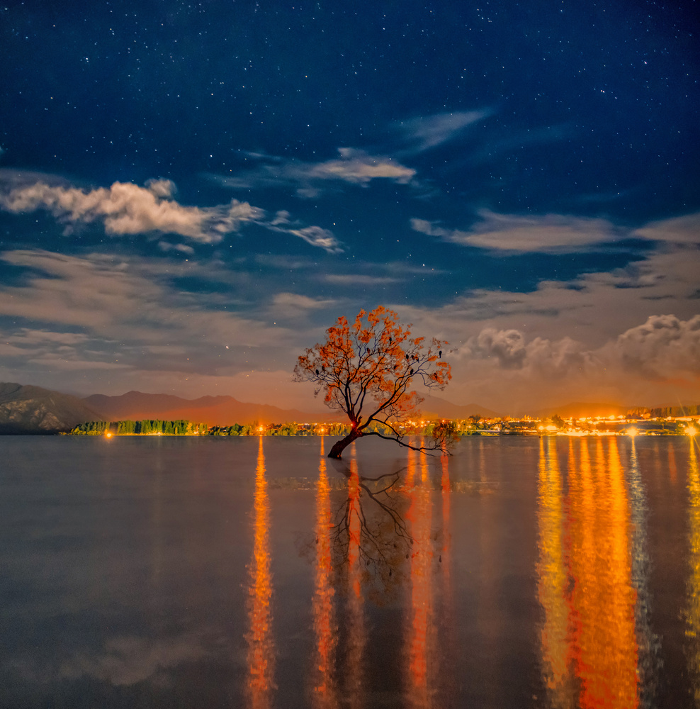 Wanaka Night by Alex Hill