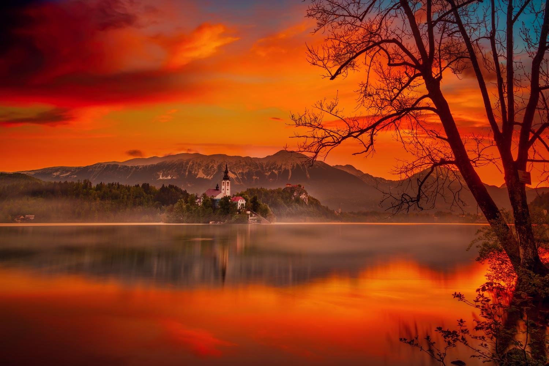 Fiery Dawn by Alex Hill