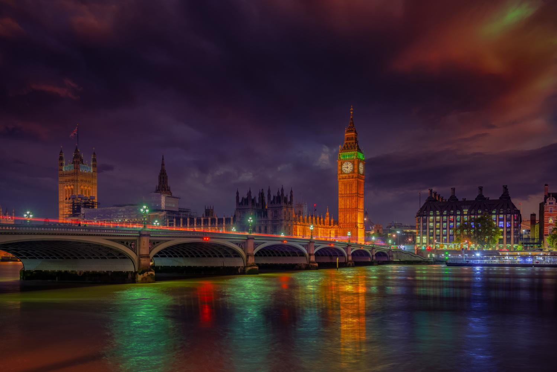 London Night by Alex Hill