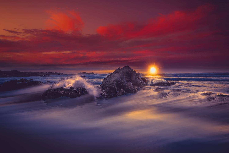 Monterey Sunset by Alex Hill