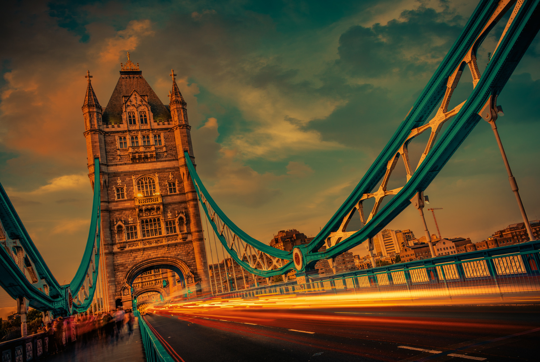 Bridge Traffic by Alex Hill