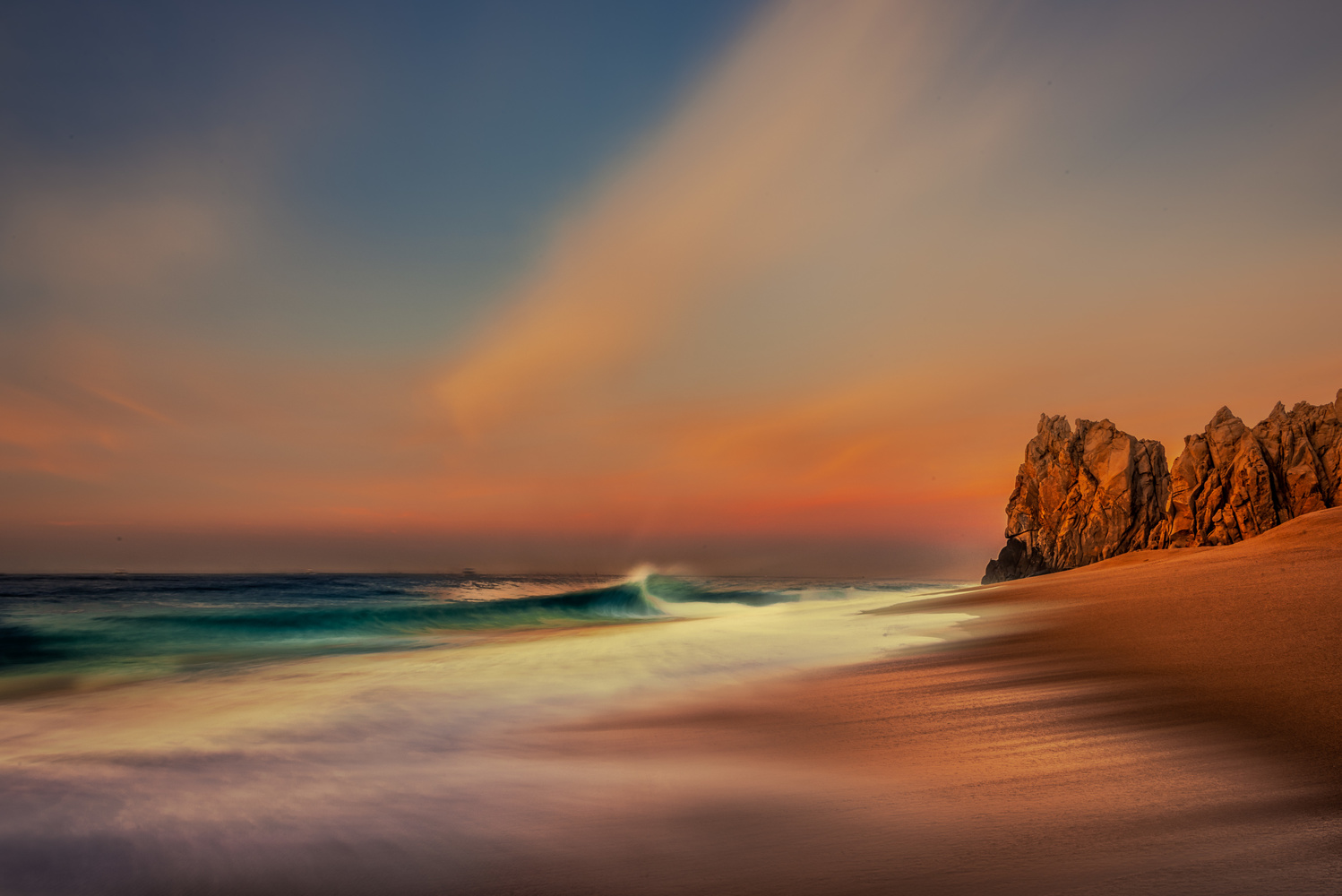 Morning Wave by Alex Hill