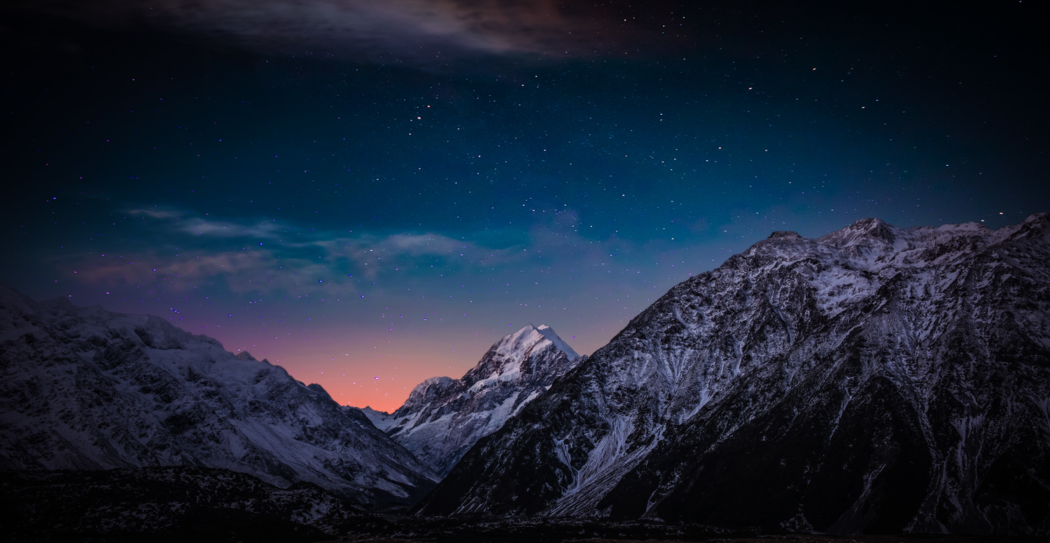 Mt. Cook Stars by Alex Hill