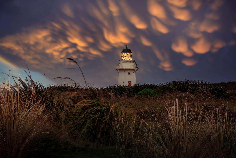 Waipapa Point Lighthouse by Alex Hill