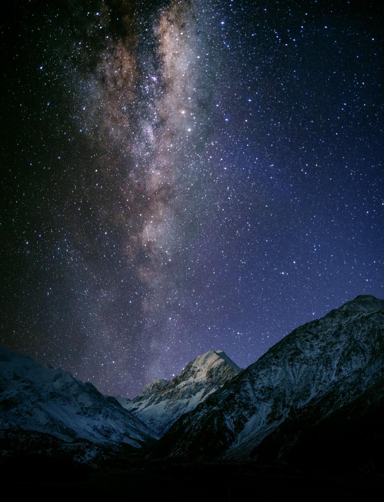 Mt. Cook Stars by Alex Hill