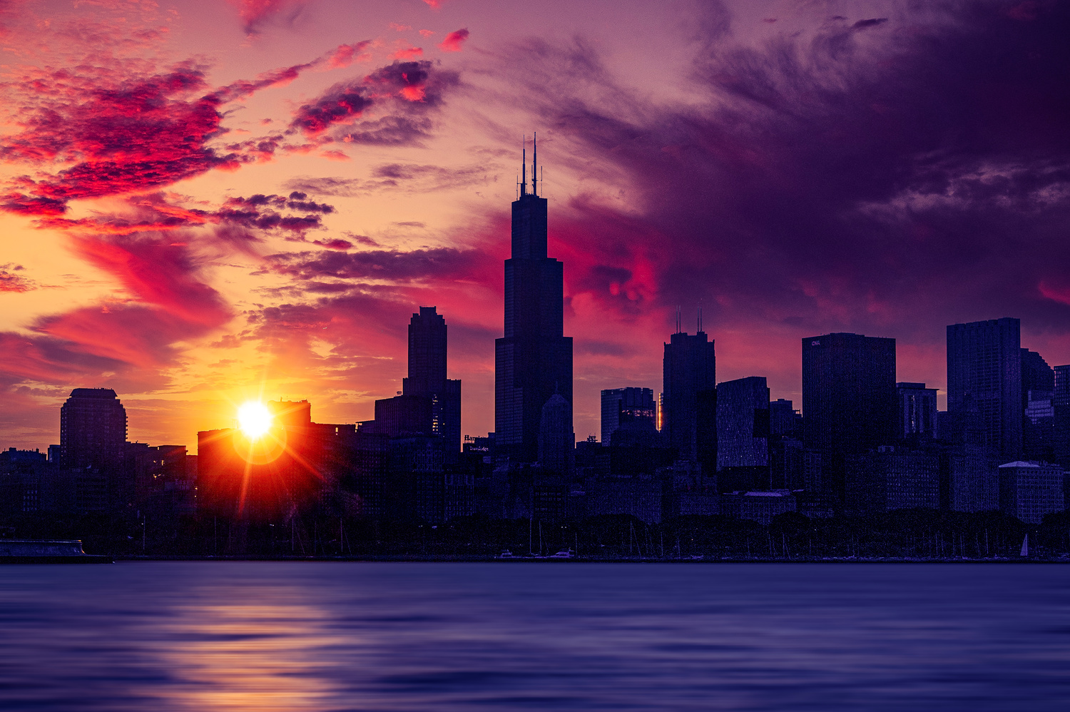 Chicago Dawn by Alex Hill