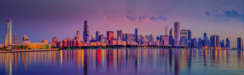 Chicago Skyline by Alex Hill