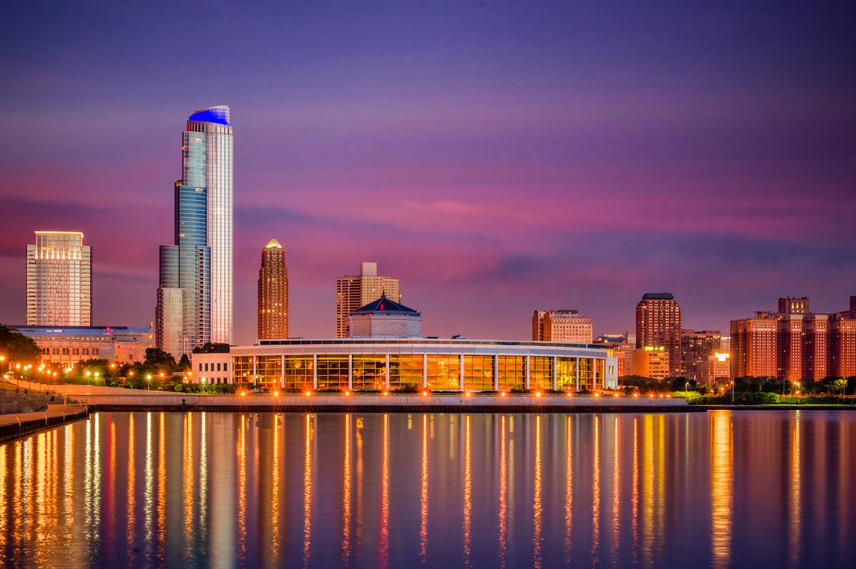 Chicago Daybreak by Alex Hill