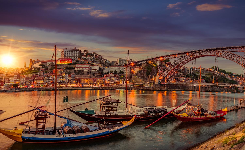 Porto Sunset by Alex Hill