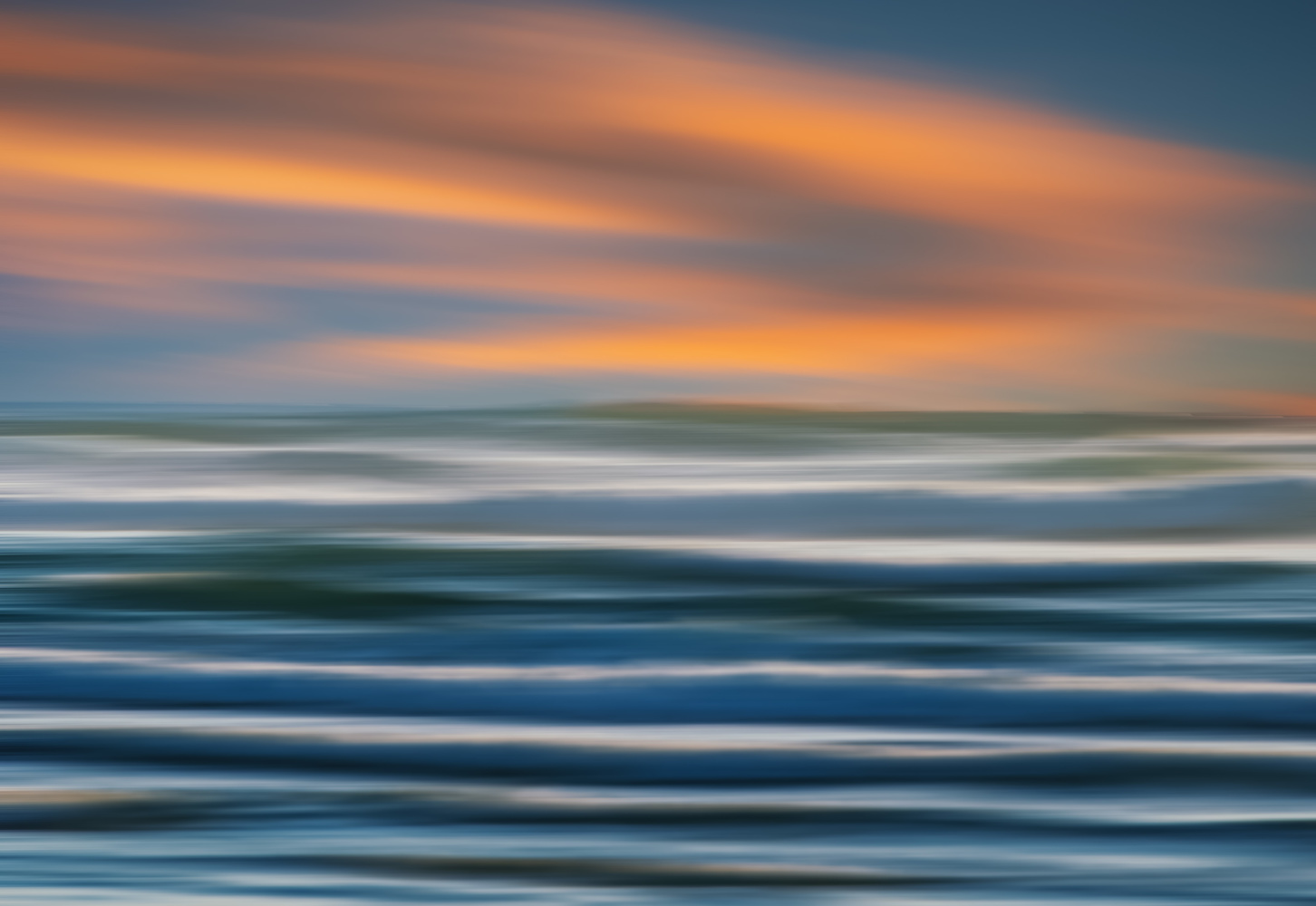 Abstract Waves by Alex Hill