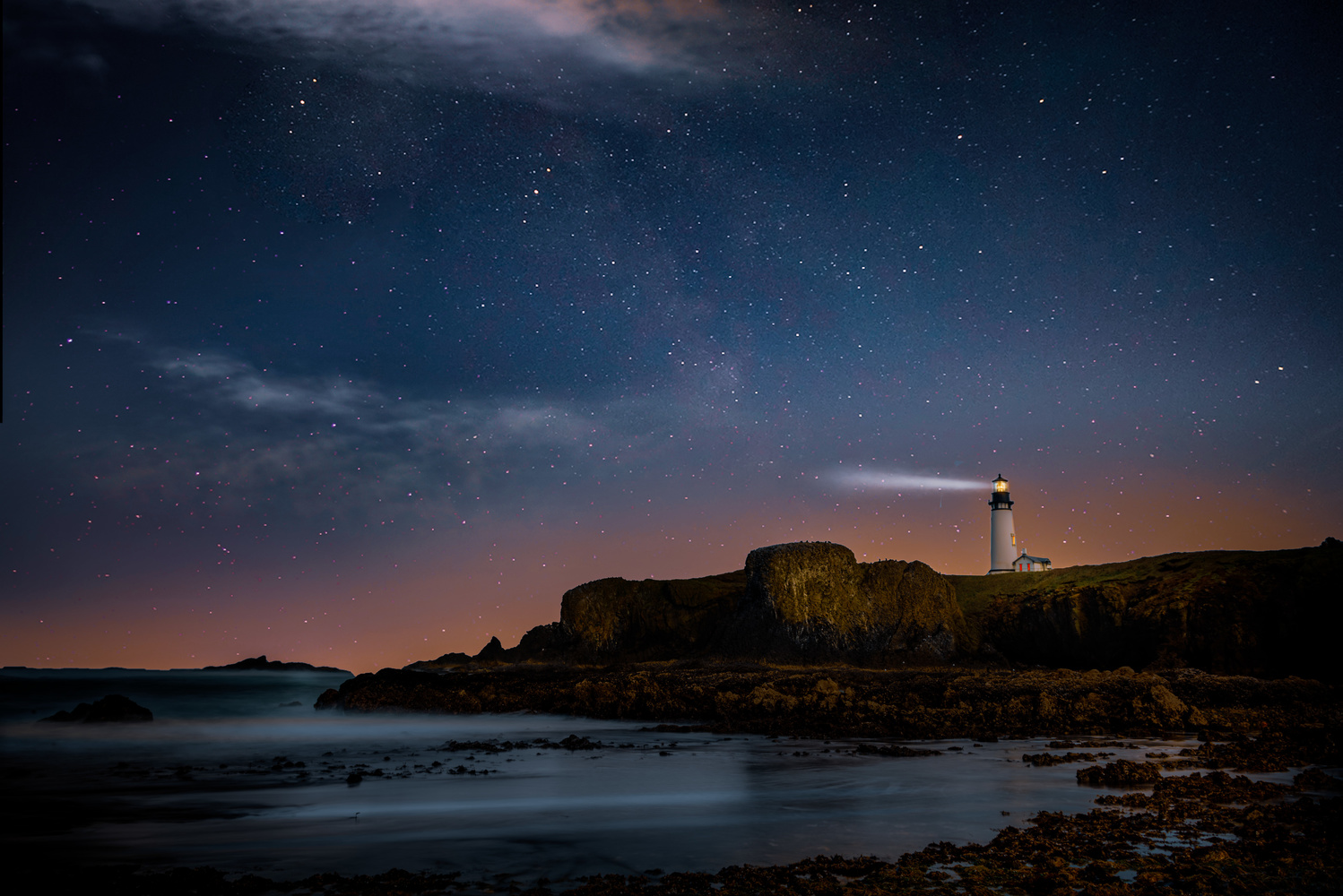Yaquina Head Lighthouse by Alex Hill