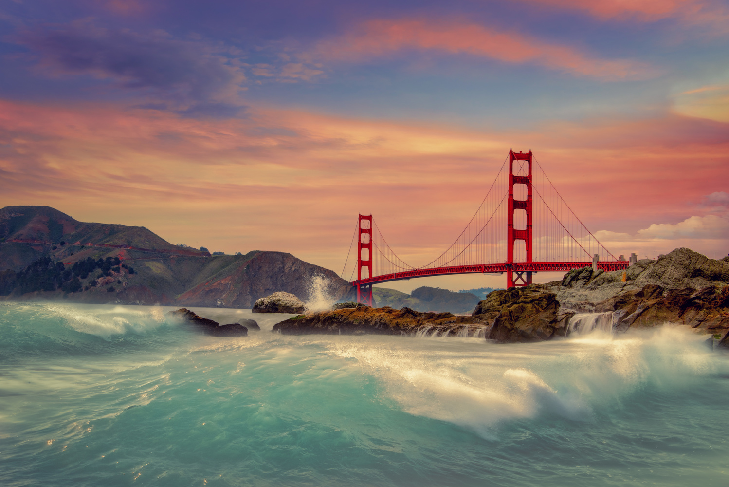 Golden Gate by Alex Hill