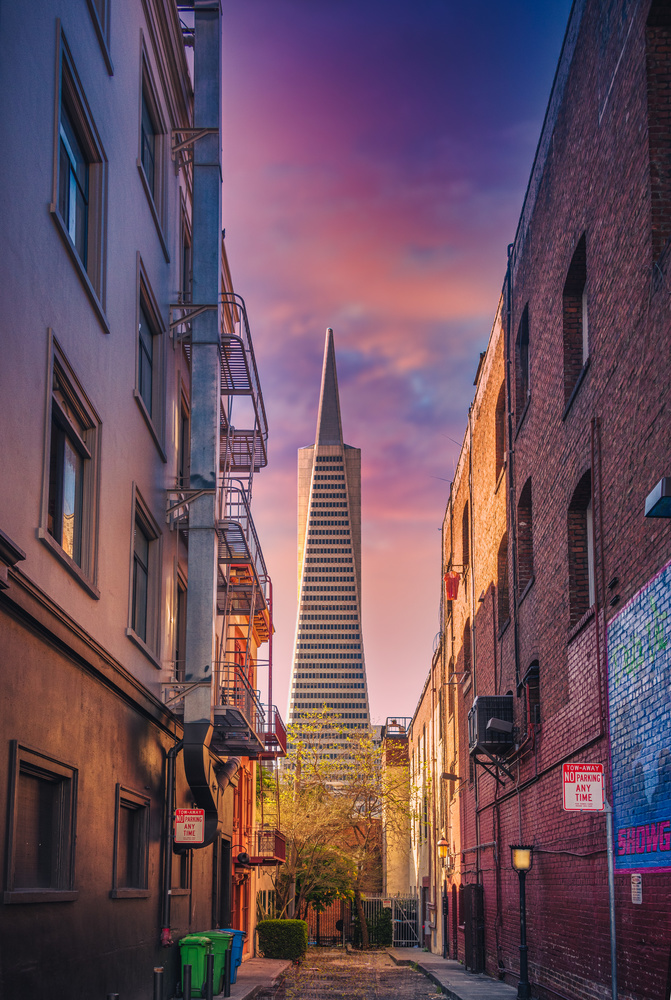 Urban Pyramid by Alex Hill