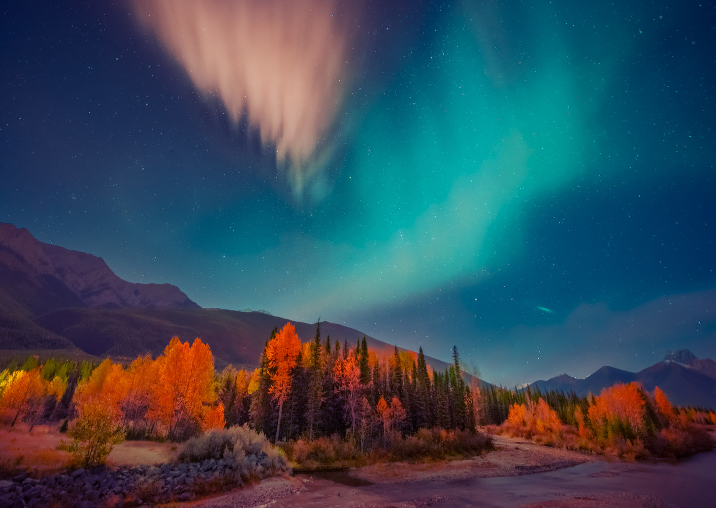 Aurora Night by Alex Hill