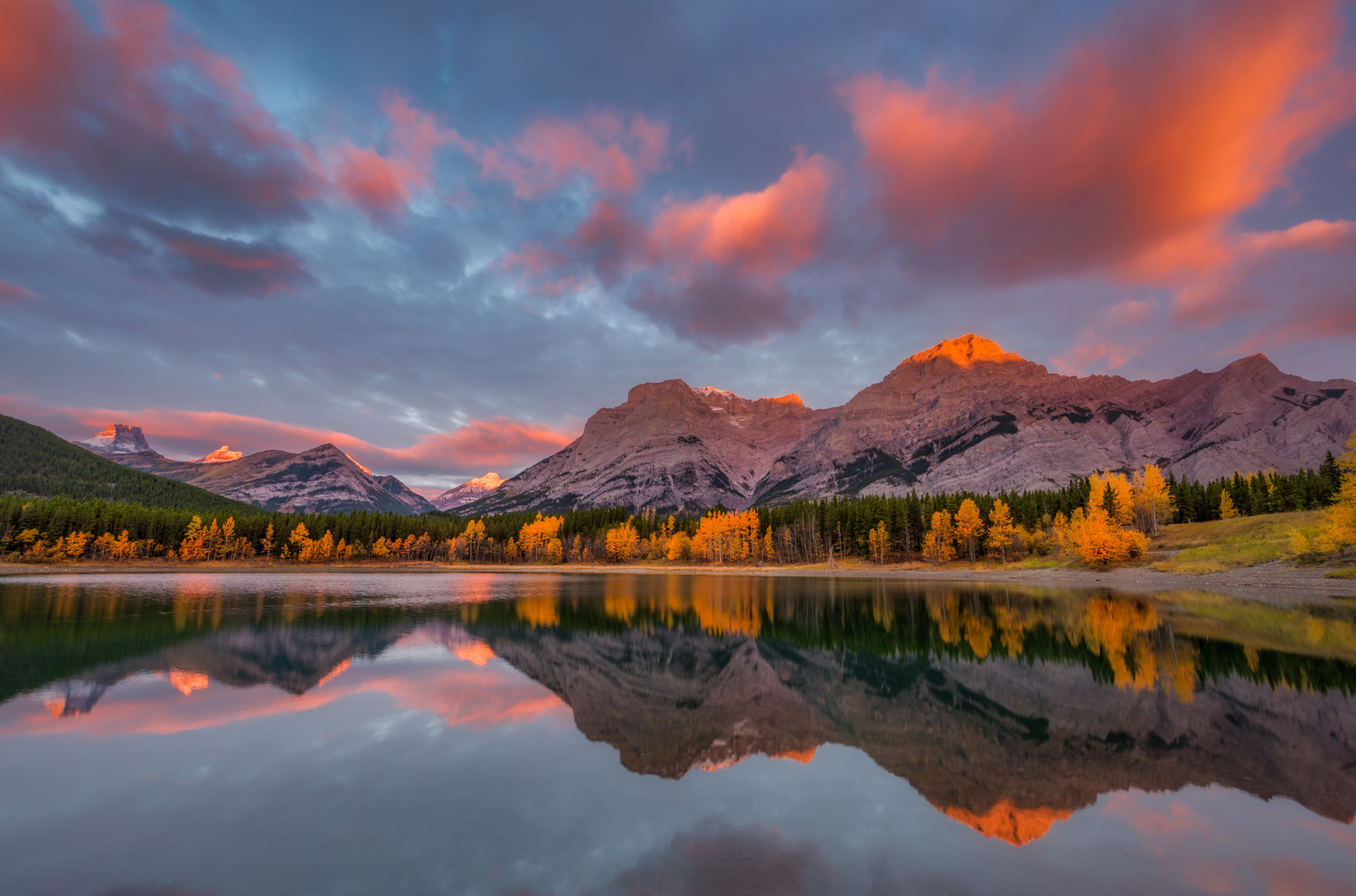 Wedge pond by Alex Hill
