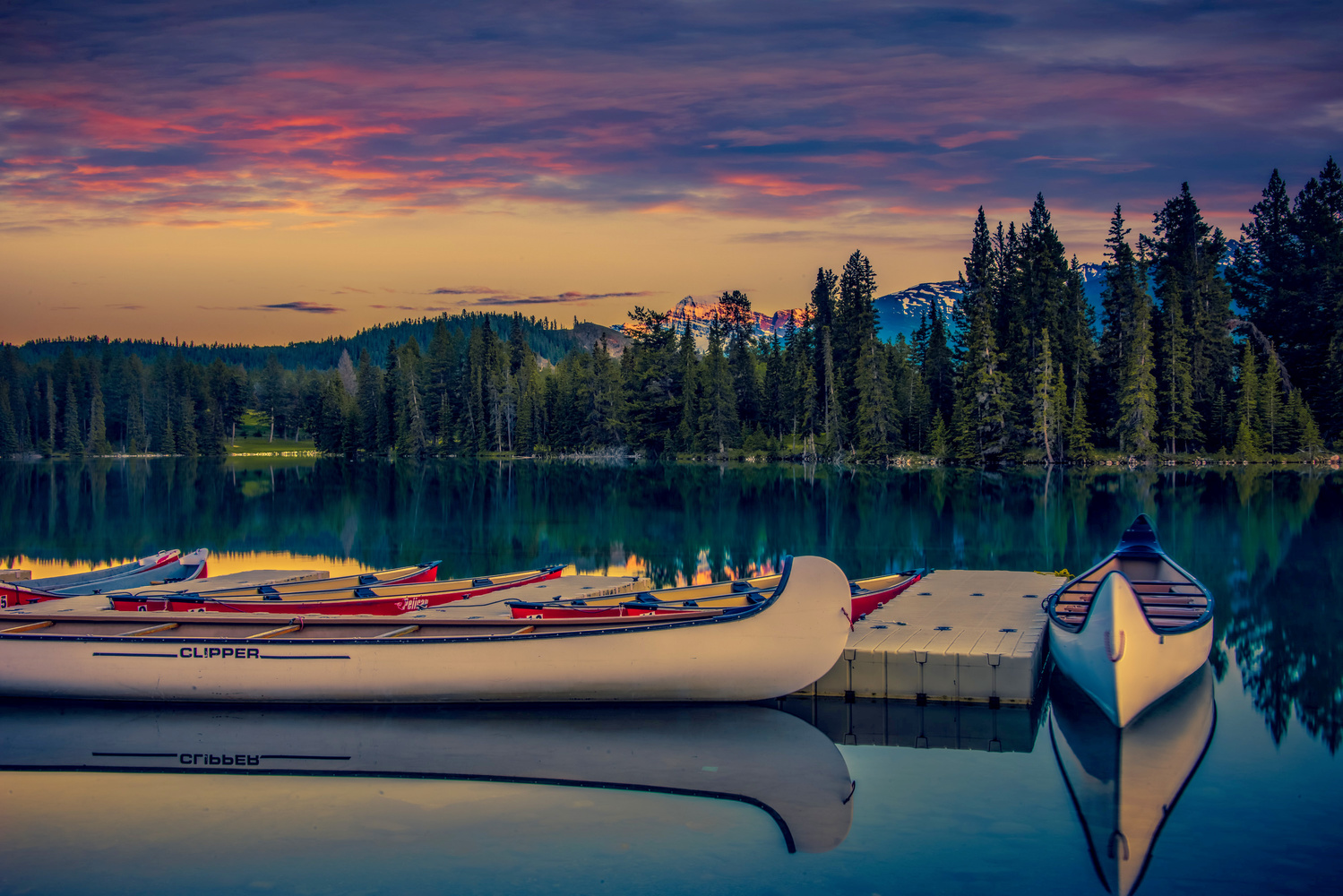 Two Canoe by Alex Hill
