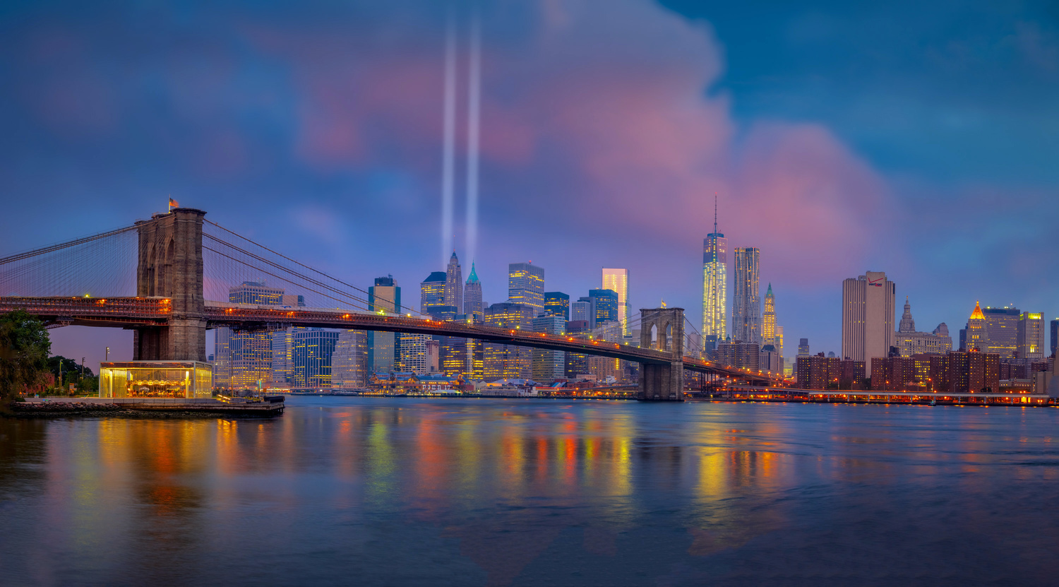 Tribute in Light by Alex Hill