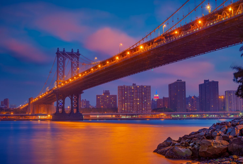 New York Night by Alex Hill