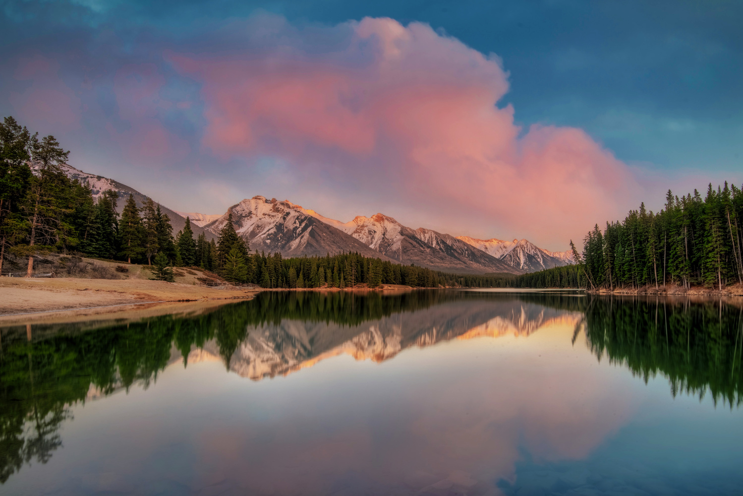Cotton Candy Sunset by Alex Hill