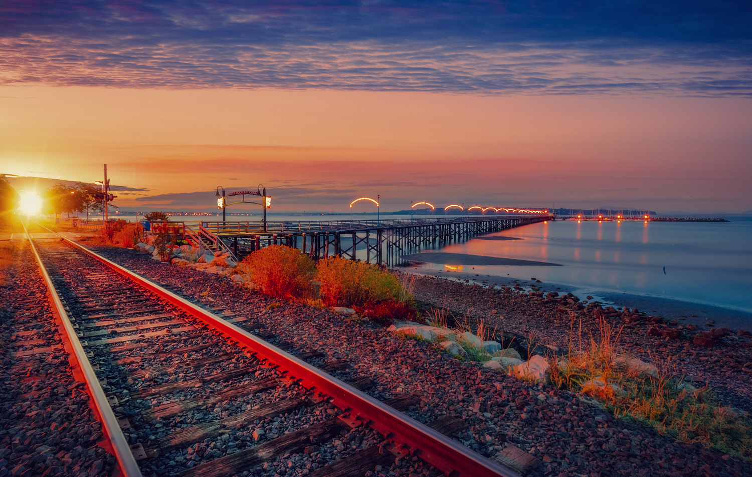 On The Rail by Alex Hill