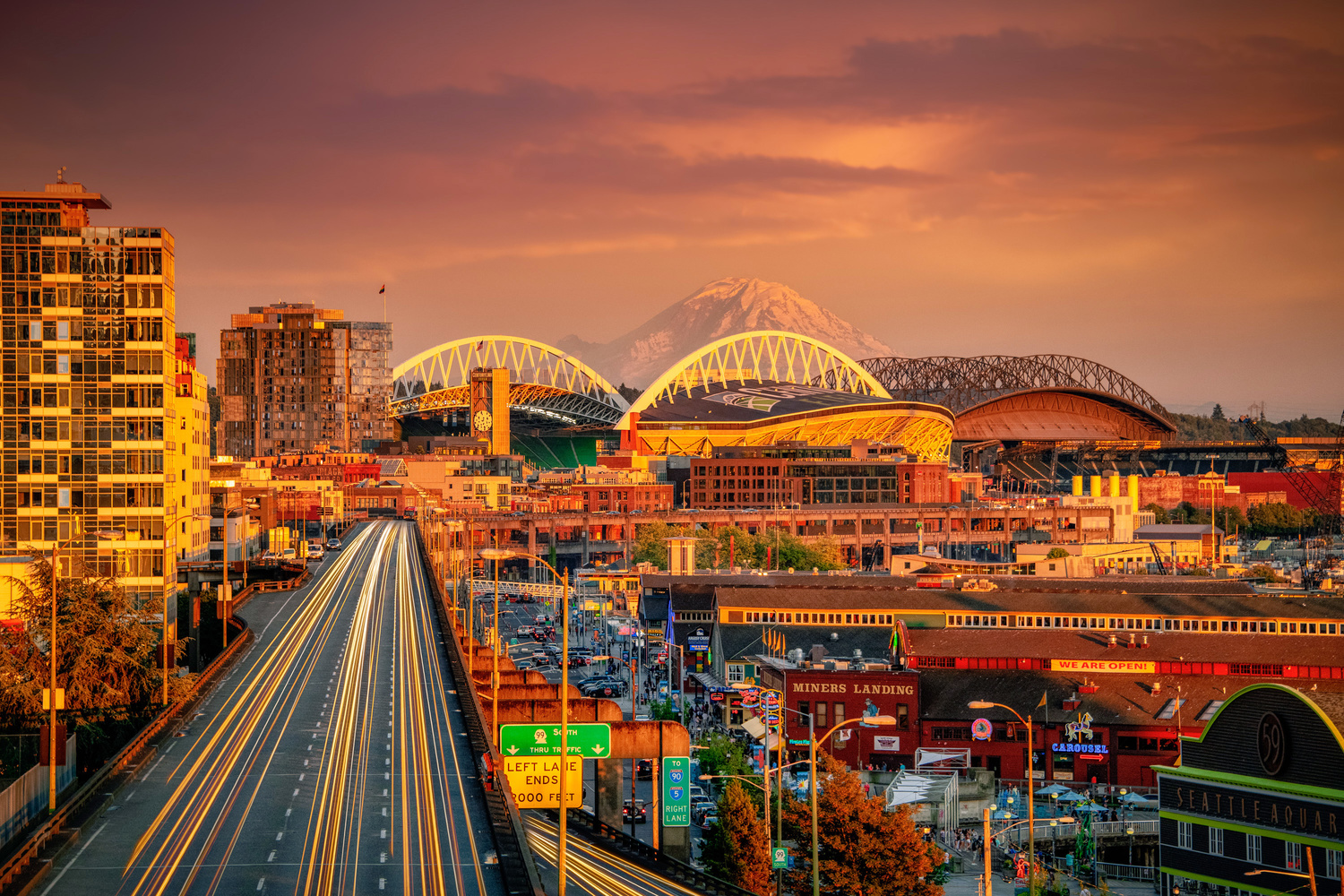 Seattle Rush Hour by Alex Hill