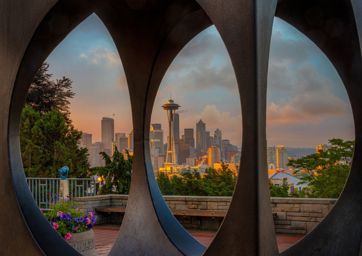 Seattle Dawn by Alex Hill