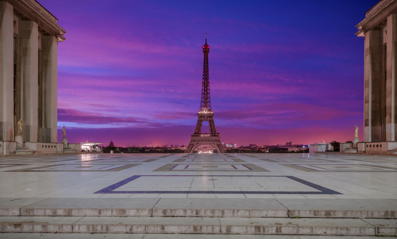 Paris Daybreak by Alex Hill