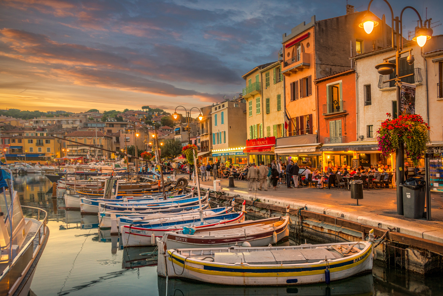 Cassis Sunset by Alex Hill