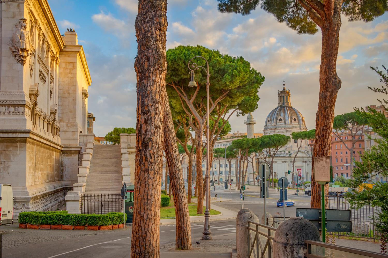 Daybreak in Rome by Alex Hill