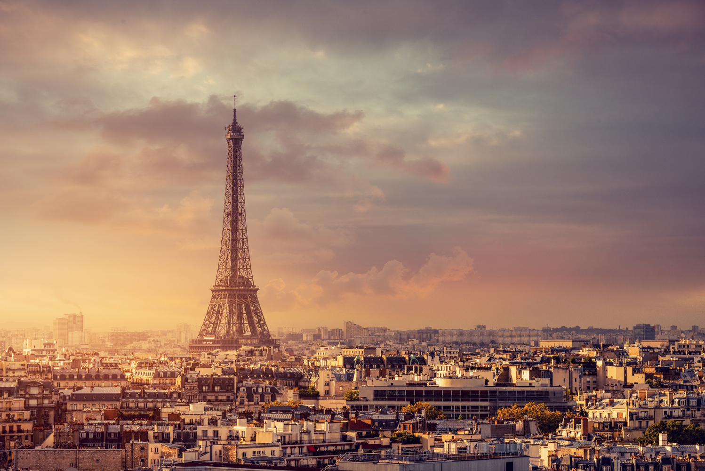 Daybreak in Paris by Alex Hill