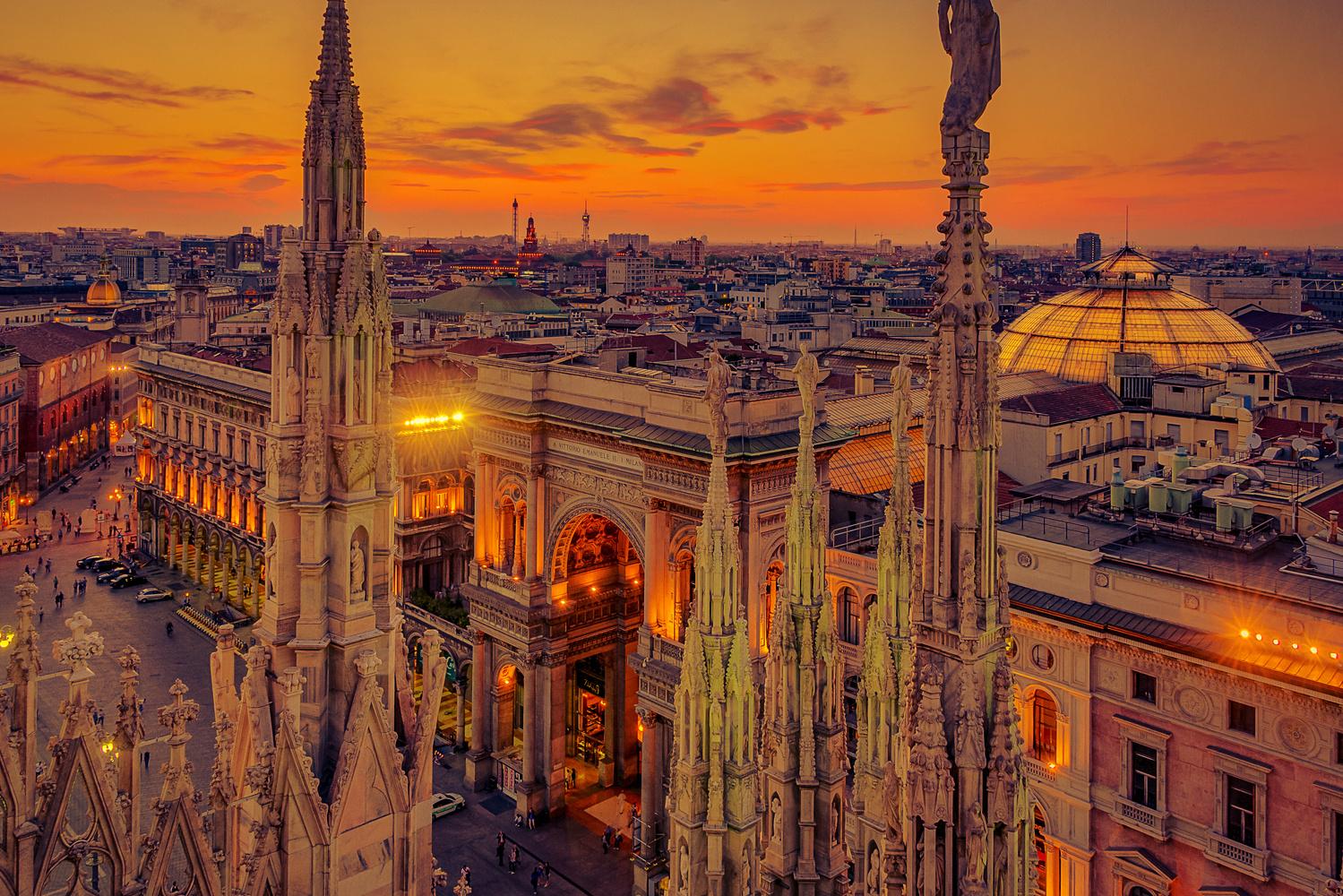 Milan Mall by Alex Hill