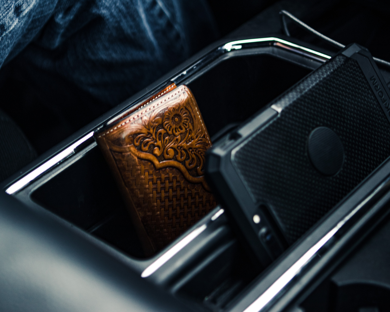 Wallet in Console by Nick Cody
