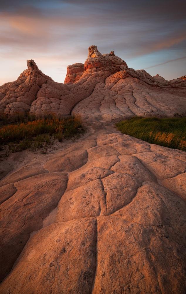 White Pocket Sunset by Jordan Inglee