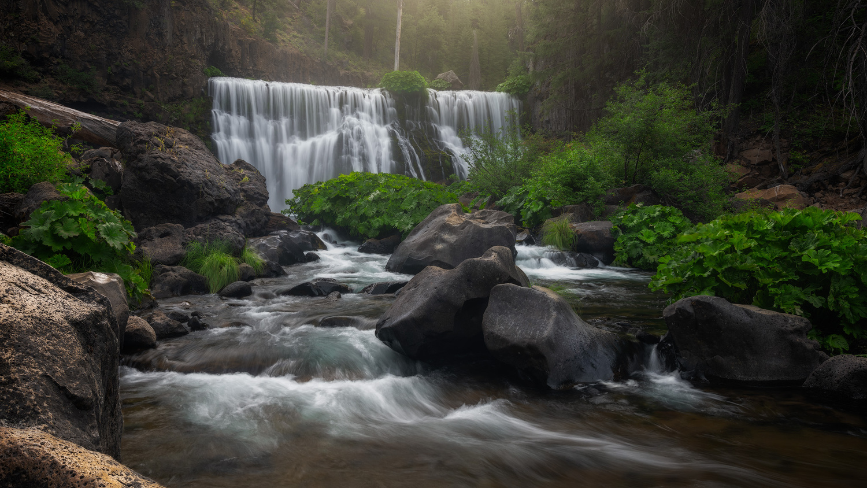 Moody McCloud Falls by Jordan Inglee