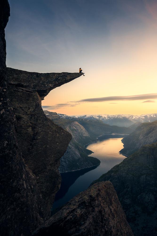 Trolltunga, Norway by Guilherme Mesquita