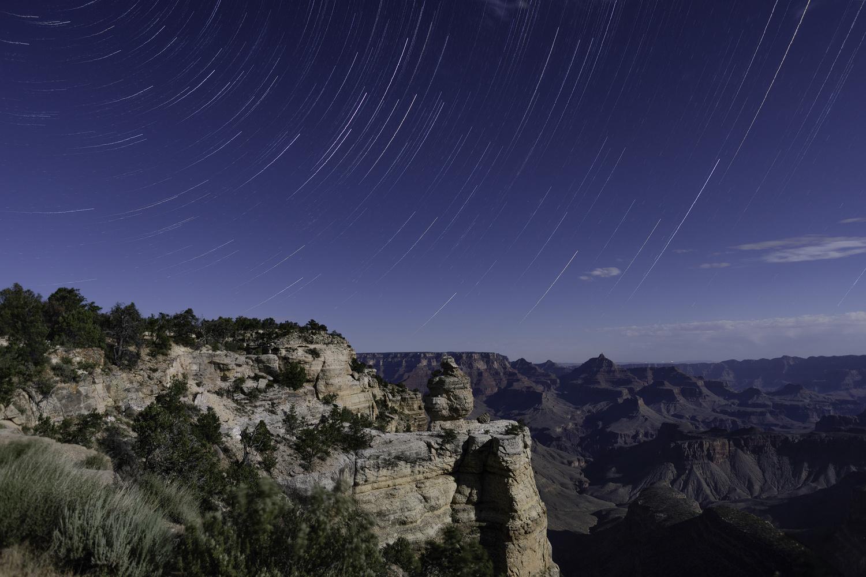 Grand Canyon Star Trails by Melanie LeDuc