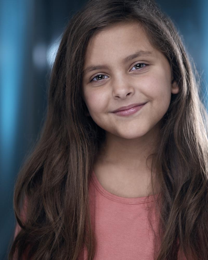 Child Actor Headshot - Karis May by Alexander May