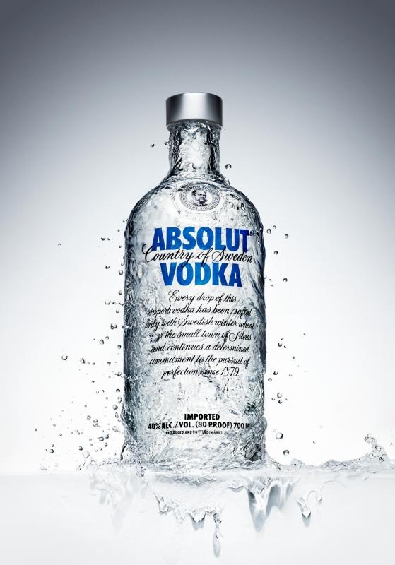 Absolut vodka by Nazar Andriychuk