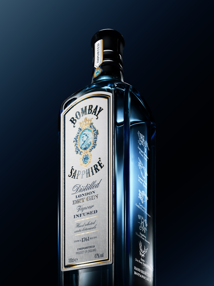 Bombay Sapphire by Nazar Andriychuk