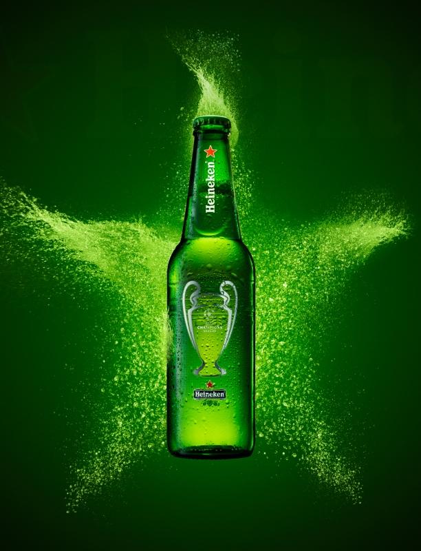 Heineken star by Nazar Andriychuk