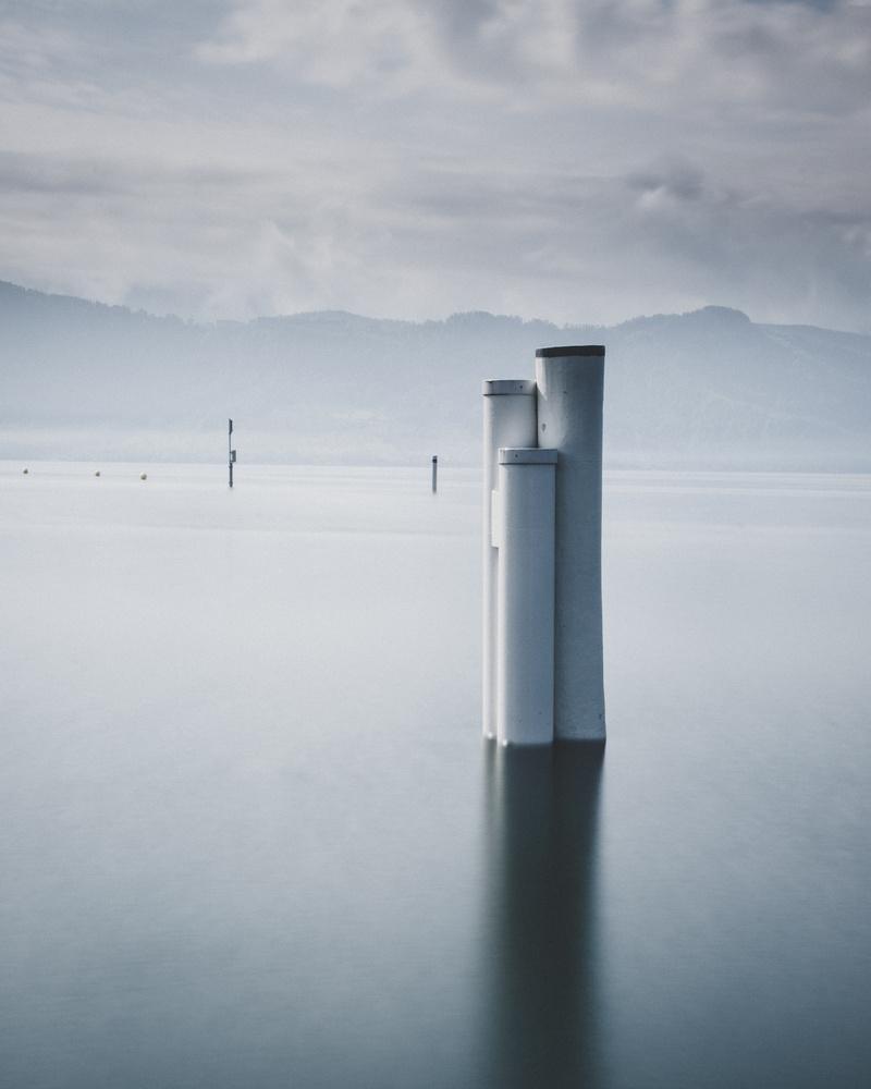 quiet lake by Silvio Zeder