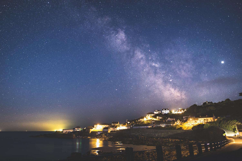 Milky Way over Cornwall by Josh Jordan