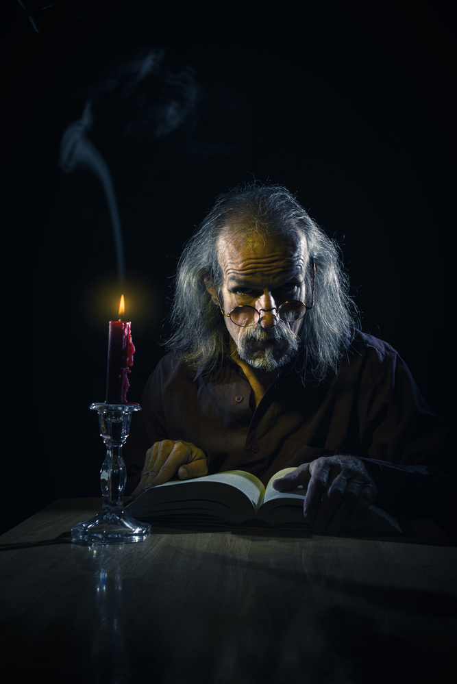 Telling A Tale by Ron Speer